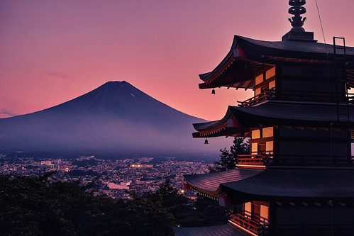Magic Hour in Japan