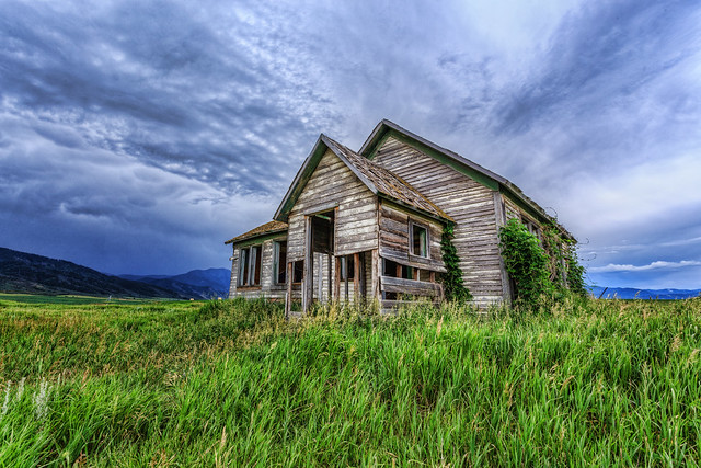 Abandoned School House in Idaho