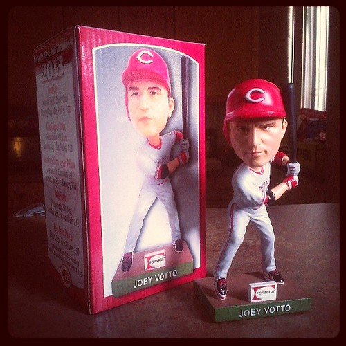I got my @Reds Joey #Votto #bobblehead! #Vottohead #InstaReds #Reds