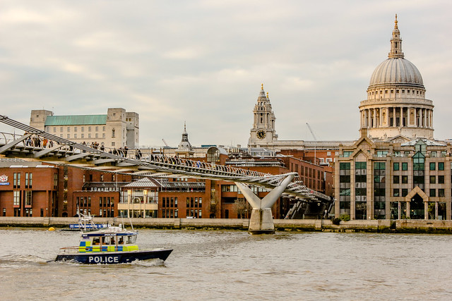 Millennium Bridge de Londres