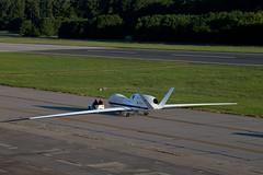 Arrival of Second Global Hawk Aircraft Marks NASA Wallops Historic Moment