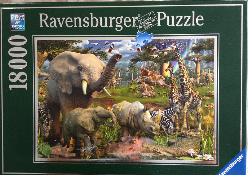 New Puzzle Day: At the Waterhole