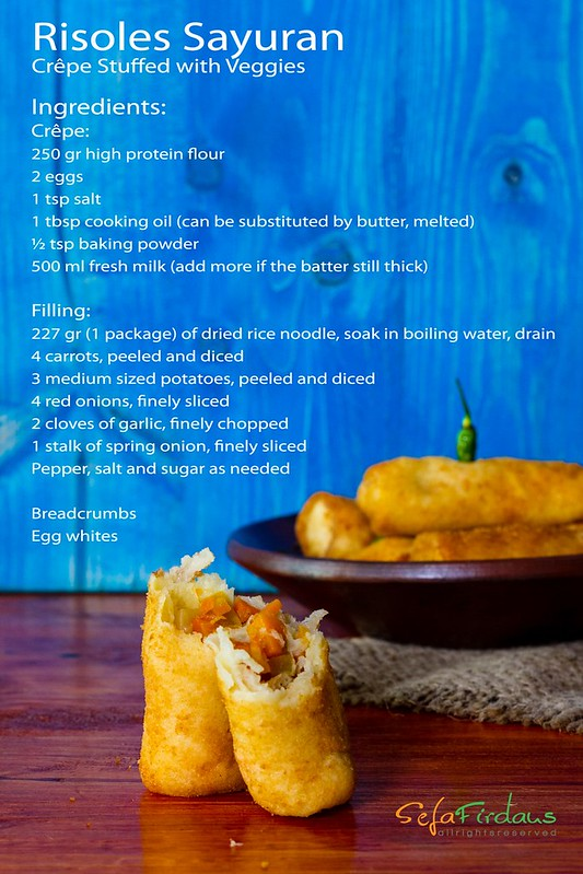 Risoles Sayuran - Ingredients