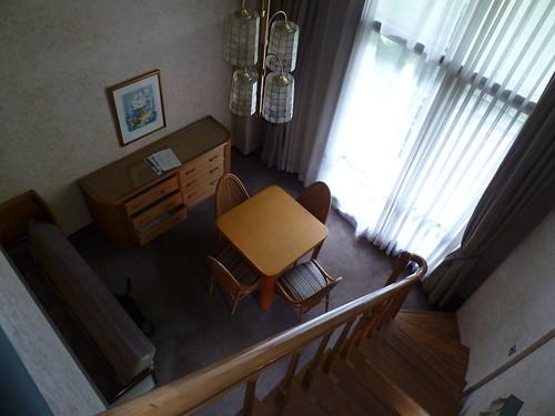 2階からの眺め 中沢ヴィレッジ