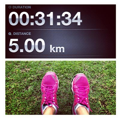 My First 5km Run!
