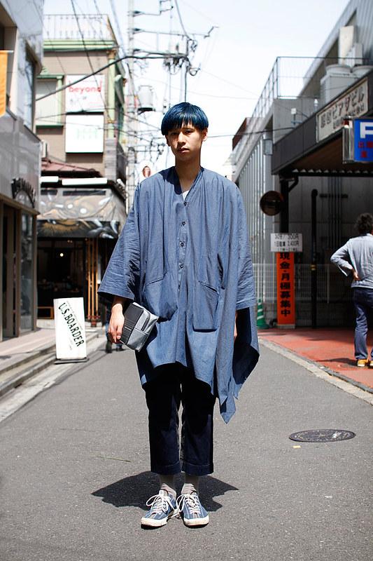 Drop Tokyo Street Style - Area- Harajuku,Tokyo | 原宿,東京 Name- Yuji Yamaguchi | 山口裕二