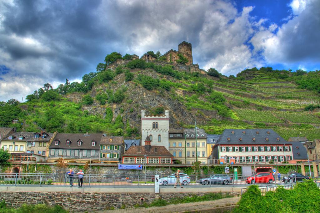 17. Gutenfels, cerca de Kaub. Renania-Palatinado. Autor, RescueAnn85