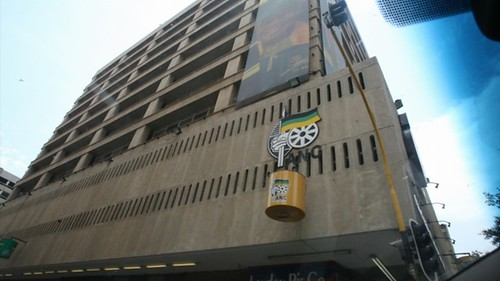 African National Congress headquarters at Luthuli House. The building was the scene of a suspicious fire on September 3, 2013. by Pan-African News Wire File Photos