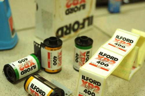 ILFORD XP2 400分裝片
