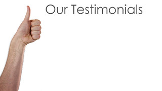 Our Testimonials Stock Banner Ad Thumbs Up | by Dave Dugdale