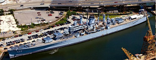 USS Salem (CA 139) taken in Quincy, MA, July 2009. The photographer was Al Coombs
