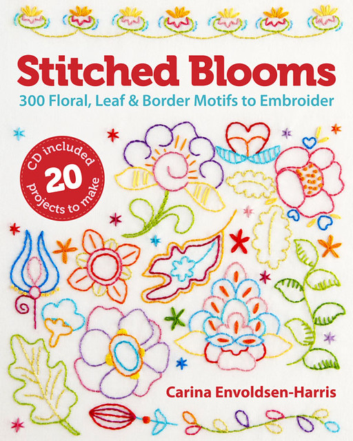 Review: Stitched Blooms, by Carina Envoldsen-Harris