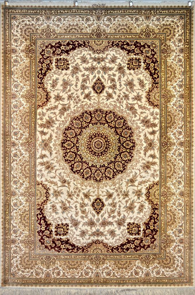 Qum Pure Silk Super Fine 4x6