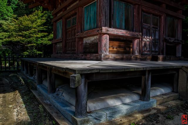 「三重塔 土台」 石峯寺 - 兵庫