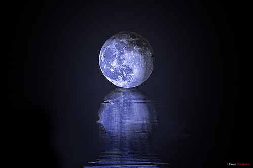 Reflections of a Blue Moon