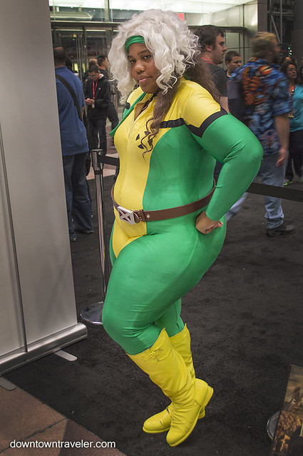 NY Comic Con Womens Costume Xmen Rogue