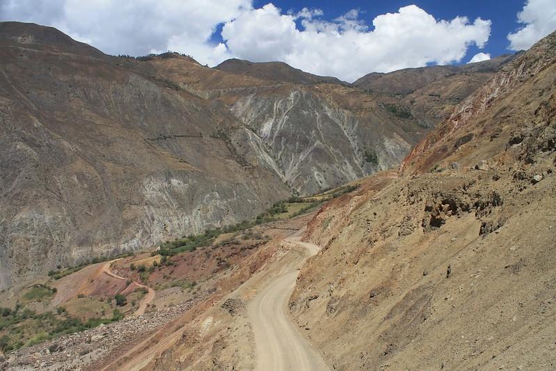 Climbing to Cajatambo