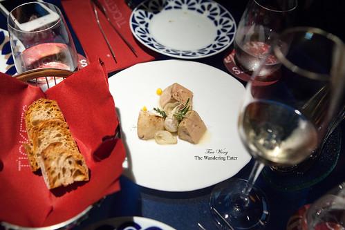Course 9: Foie gras escabeche
