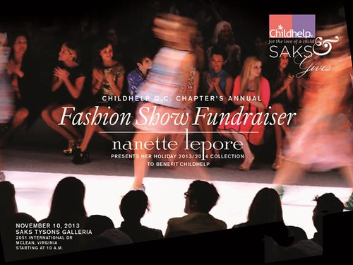 Childhelp Nanette Lepore Fashion Show at Saks