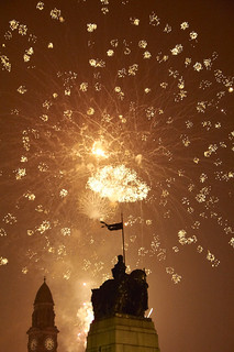 Paisley Fireworks 2013 Cenotaph
