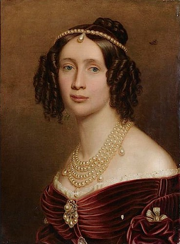 1842 Maria Anna of Bavaria, Queen of Saxony by Joseph Karl Stieler