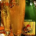 ベルギービール大好き!! シュフ・ダブル・IPA・トリペル Chouffe Dobbelen IPA Tripel @ビスカフェ