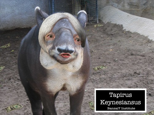 TAPIRUS KEYNESIANSUS by WilliamBanzai7/Colonel Flick