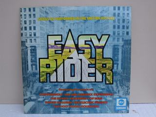 Easy Rider Vinyl LP  Classic 60's 70's Album Cover