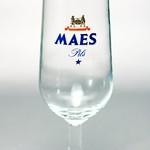 ベルギービール大好き!!【マース・ピルスの専用グラス】(管理人所有 )