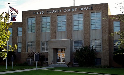 Floydada TX - Floyd County Courthouse