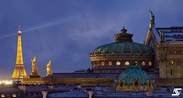 Opéra Garnier @ Blue Hour