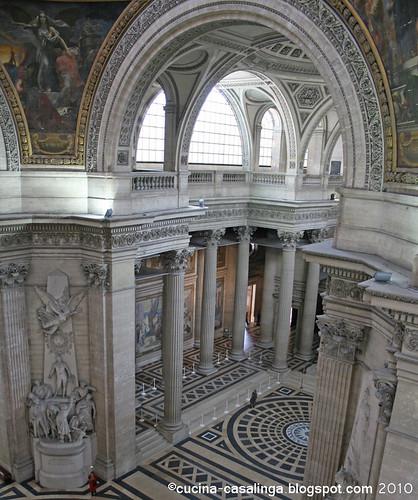 Pantheon von oben