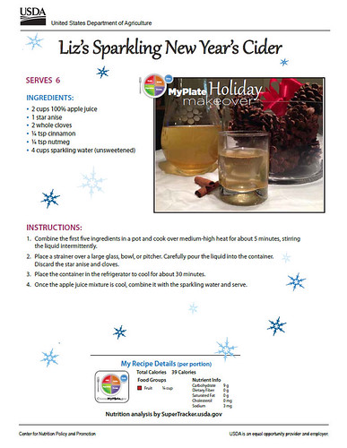 Liz's Sparkling New Year's Cider recipe