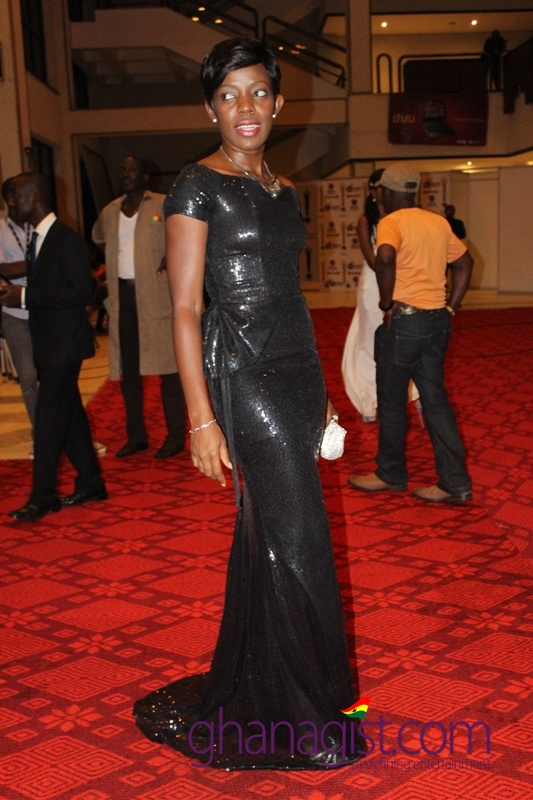 Shirley Firmpong-Manso at Ghana Movie Awards 2013
