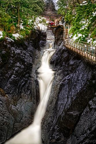 winter newyork unitedstates waterfalls wilmington highfallsgorge wilmingtonny