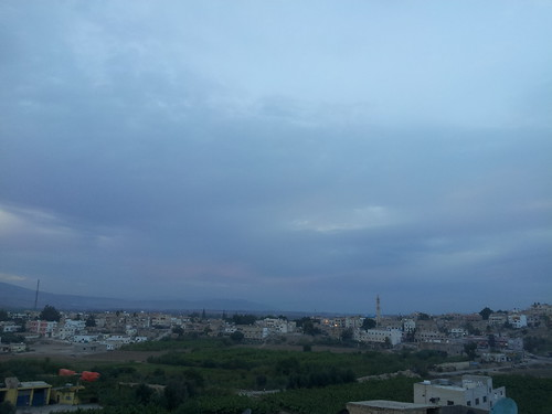 sunset night cloudy jordan shuna الشونة northshuna
