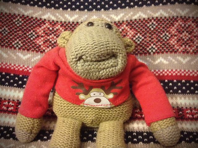 Munkeh Christmas jumper