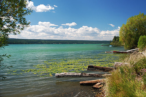 Lac La Hache, Highway 97, Cariboo, British Columbia, Canada