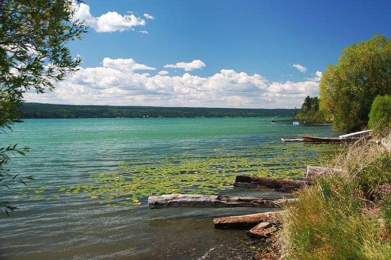 Lac La Hache, Highway 97, Cariboo, British Columbia, Canada