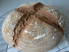 Whole Wheat Sourdough Bread 001