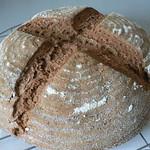 Weizenvollkornbrot mit Sauerteig 75%