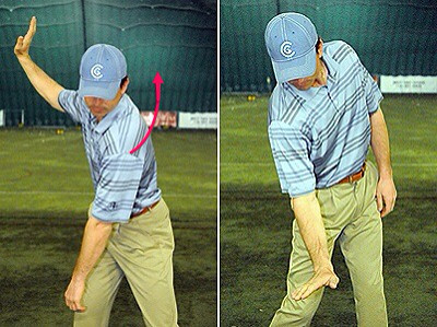 Torso in the Downswing