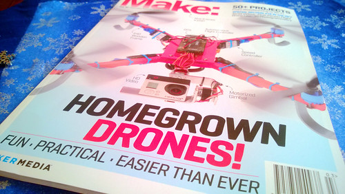 the new make magazine is going to keep odin and me busy for awhile.