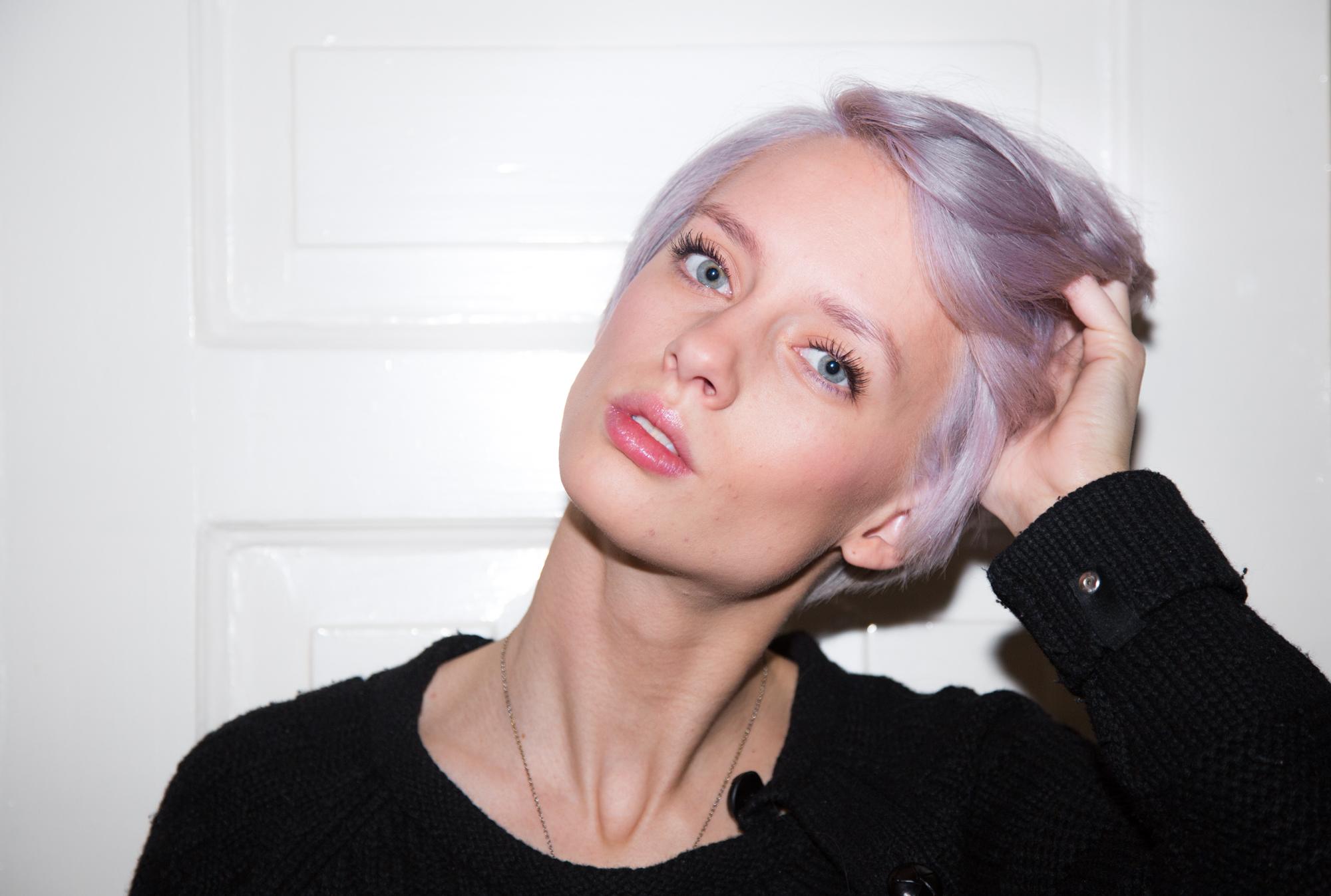 Lanvender hair