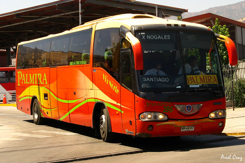 Palmira Vía Norte en Intermodal Vespucio Norte | Irizar Century / VR4007