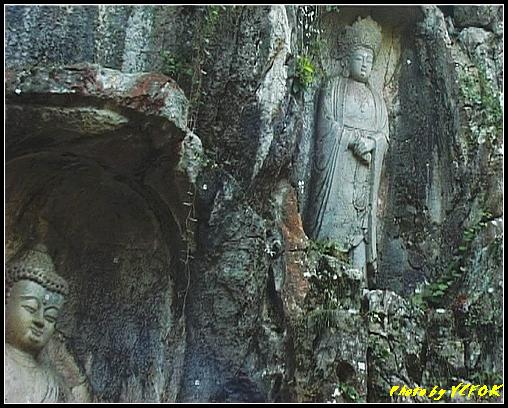 杭州 飛來峰景區 - 017 (飛來峰石雕佛像)