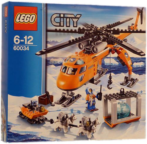 LEGO City Arctic Helicrane (60034)