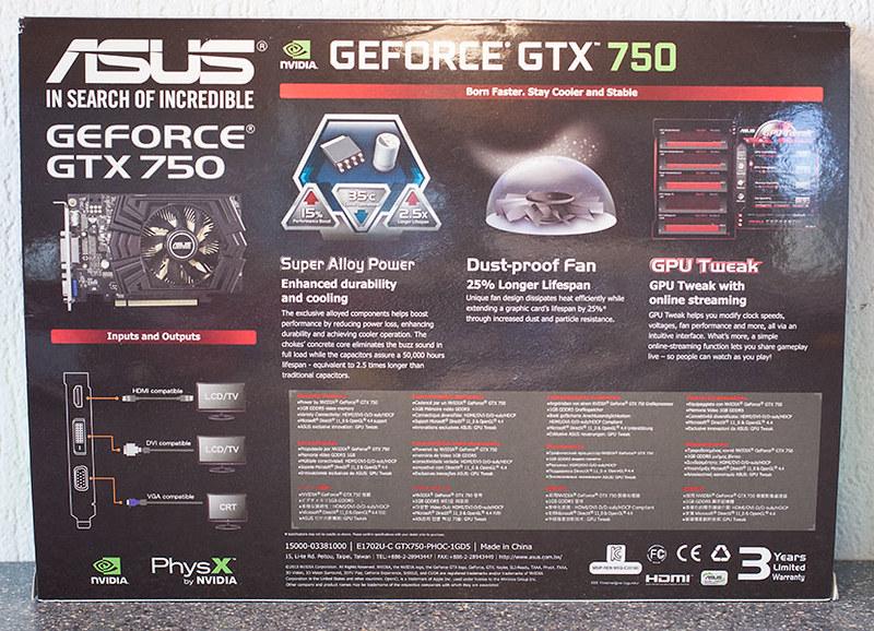 [Đập hộp] ASUS GTX 750 OC 1GB - 10244