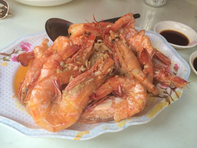Garlic and butter prawns - Plato D'Boracay Resto