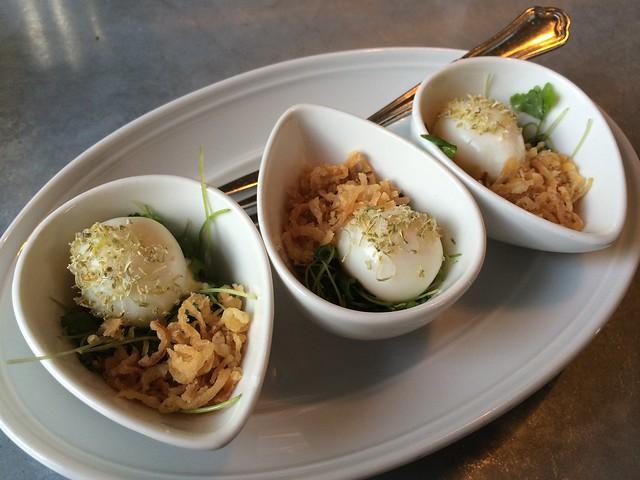 Quail eggs mayonnaise - The Cavalier